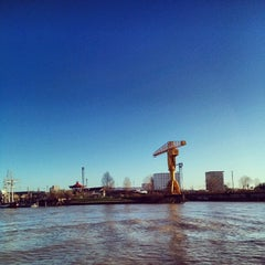 Photo taken at Navibus Gare Maritime by lethargicpanda on 12/26/2013