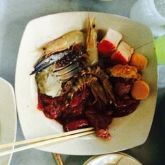 Photo taken at Flaming Steamboat by Muhammad S. on 1/1/2016