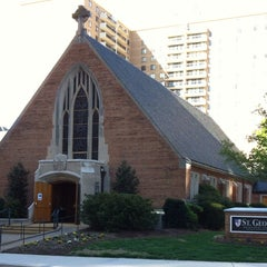 Photo taken at St. George Episcopal Church by Michael B. on 4/27/2014