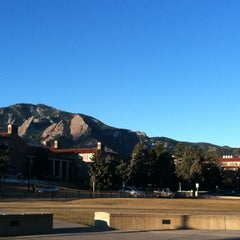 Photo taken at University of Colorado Boulder by Christopher A. on 2/18/2013