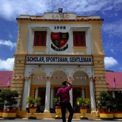 Photo taken at Sultan Abdul Hamid College by Muhd F. on 8/23/2015