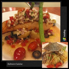 Photo taken at Salmon Cuisine by Thitaporn C. on 12/27/2015