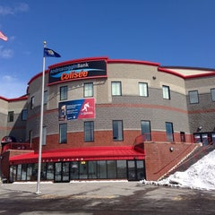 Photo taken at Androscoggin Bank Colisée by Josh L. on 3/21/2014