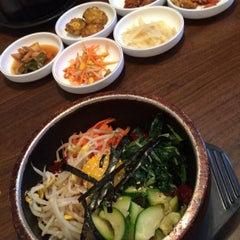 Photo taken at Seoul Garden by Allison H. on 7/10/2015