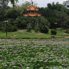 Photo taken at 四海公园 Sihai Park by Omara on 5/19/2013