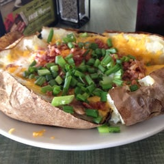 Photo taken at Jason's Deli by Karen K. on 11/10/2012