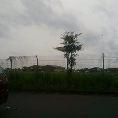 Photo taken at Bandar Udara Pondok Cabe (PCB) by Uum M. on 1/1/2014