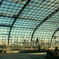 Photo taken at Berlin Hauptbahnhof by Philipp D. on 3/24/2013