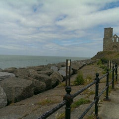 Photo taken at Reculver Towers and Roman Fort by Laila K. on 6/17/2015