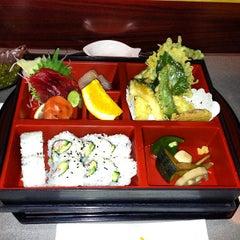 Photo taken at Hana Japanese Eatery by Desert Smoke BBQ on 11/1/2012