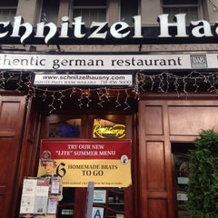 Photo taken at Schnitzel Haus by Роман С. on 7/29/2014