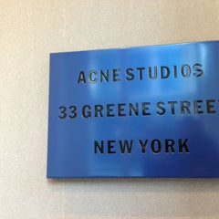 Photo taken at Acne Studios by Jan S. on 3/10/2013
