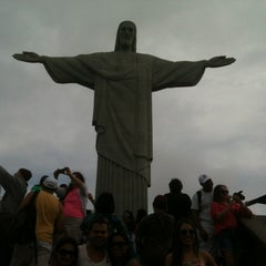 Photo taken at Cristo Redentor by Juciano M. on 6/22/2013