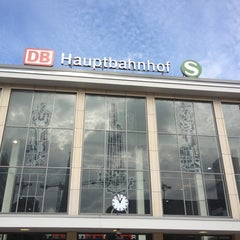Photo taken at Dortmund Hauptbahnhof by でい か. on 9/28/2012