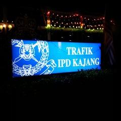 Photo taken at Balai Polis kajang by Cherry Y. on 10/31/2013