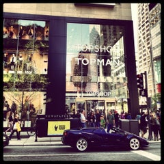 Photo taken at Topshop by marissa w. on 9/29/2012