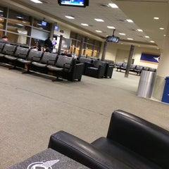 Photo taken at Gate A17 by Jamie V. on 2/8/2014