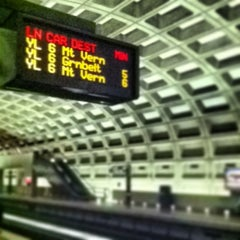 Photo taken at Crystal City Metro Station by Robert A. on 6/27/2013