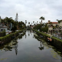 Photo taken at Venice Canals by Dress for the Date on 2/18/2013