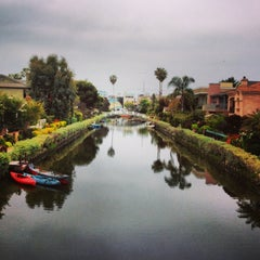Photo taken at Venice Canals by Dress for the Date on 4/24/2013