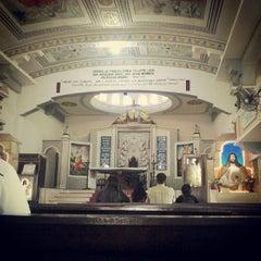 Photo taken at Graha St. Maria Annai Velangkanni by Yohanes E. on 7/11/2013