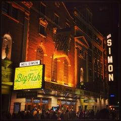 Photo taken at Neil Simon Theatre by Emily G. on 9/14/2013
