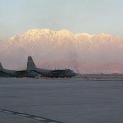 Photo taken at Bagram Airfield (OAI) by Kiriakos M. on 5/27/2014