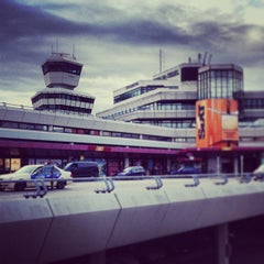 Photo taken at Flughafen Berlin-Tegel Otto Lilienthal by Michael P. on 8/16/2013