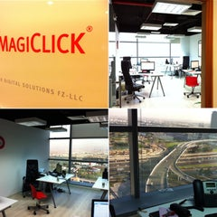 Photo taken at MagiClick Digital Solutions by Ömer D. on 12/19/2012