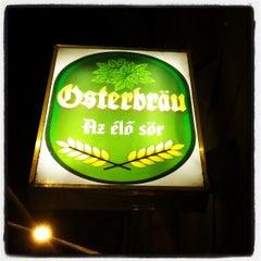 Photo taken at Osterbräu by Balázs S. on 4/27/2013