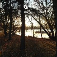 Photo taken at Lake Nokomis Fishing Dock by SemiToxic on 11/1/2012