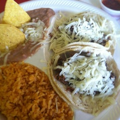 Photo taken at Pineda Tacos by Ashley L. on 2/21/2013