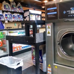 Photo taken at Federal Hill Laundromat by Michael-Alan G. on 3/3/2014