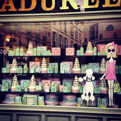 Photo taken at Ladurée by Yuliana on 7/27/2013