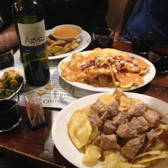 Photo taken at Taberna Almendro 13 by Juan Antonio P. on 5/1/2013