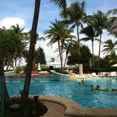 Photo taken at Loews Miami Beach Pool by Retotar A. on 12/10/2012
