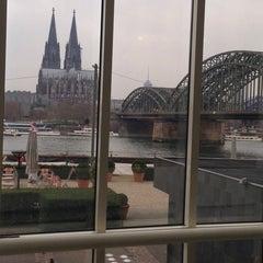 Photo taken at Hyatt Regency Cologne by Marc S. on 3/17/2014