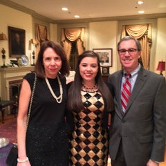 Photo taken at William & Mary Alumni House by Susie E. on 2/22/2015