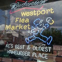 Photo taken at Westport Flea Market Bar & Grill by Kerri B. on 6/7/2013