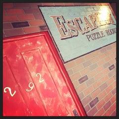 Photo taken at Strike Bowling Bar by Lauren D. on 9/24/2015