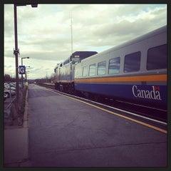 Photo taken at VIA Rail Kingston by Pat W. on 10/23/2013