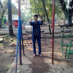 Photo taken at Taman Lalu Lintas by Alif F. on 5/24/2015