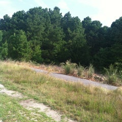 Photo taken at Cape Henlopen Bike Trail by Matt N. on 8/23/2013