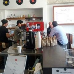 Photo taken at Elite Audio Coffee Bar by Josh A. on 3/22/2013