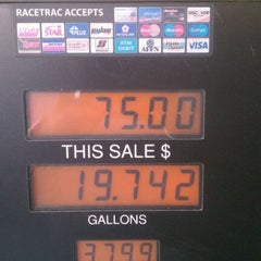 "Photo taken at RaceTrac by Auntjuan ""Mr. Community"" W. on 3/29/2012"