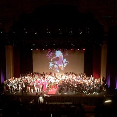 Photo taken at Paramount Center For The Arts by Daniel O. on 1/11/2015