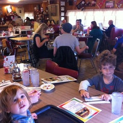 Photo taken at Aunt Martha's Pancake House by Kevin P. on 12/9/2012
