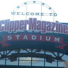 Photo taken at Clipper Magazine Stadium by Lee H. on 7/4/2013