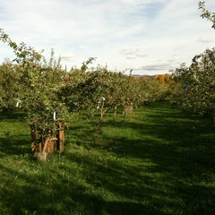Photo taken at Adams Apple Orchard and Farm Market by Mackenzie B. on 10/8/2012