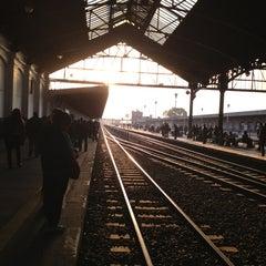 Photo taken at Estación Retiro [Línea Belgrano Norte] by Eva C. on 5/24/2013